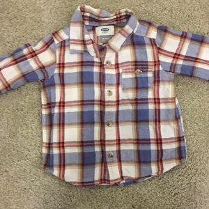 Adorable flannel shirt
